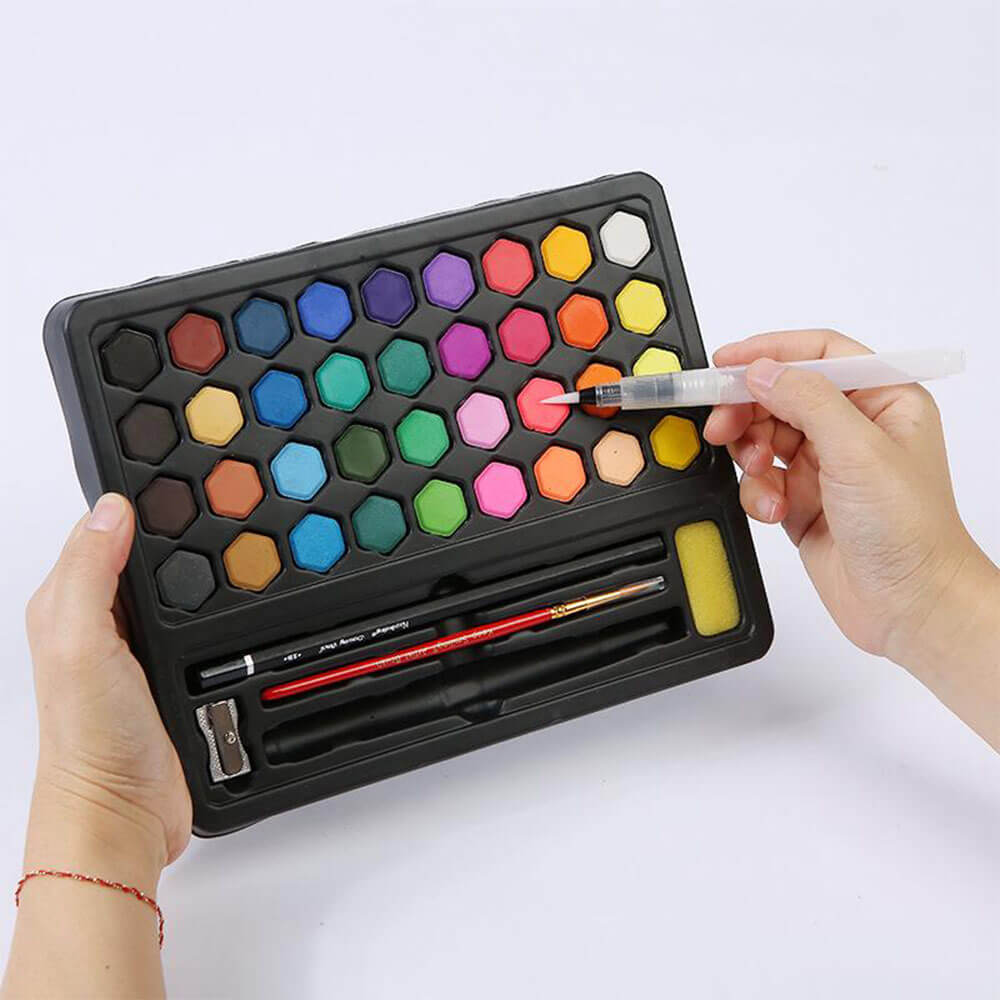 Watercolor Paint Pan Set