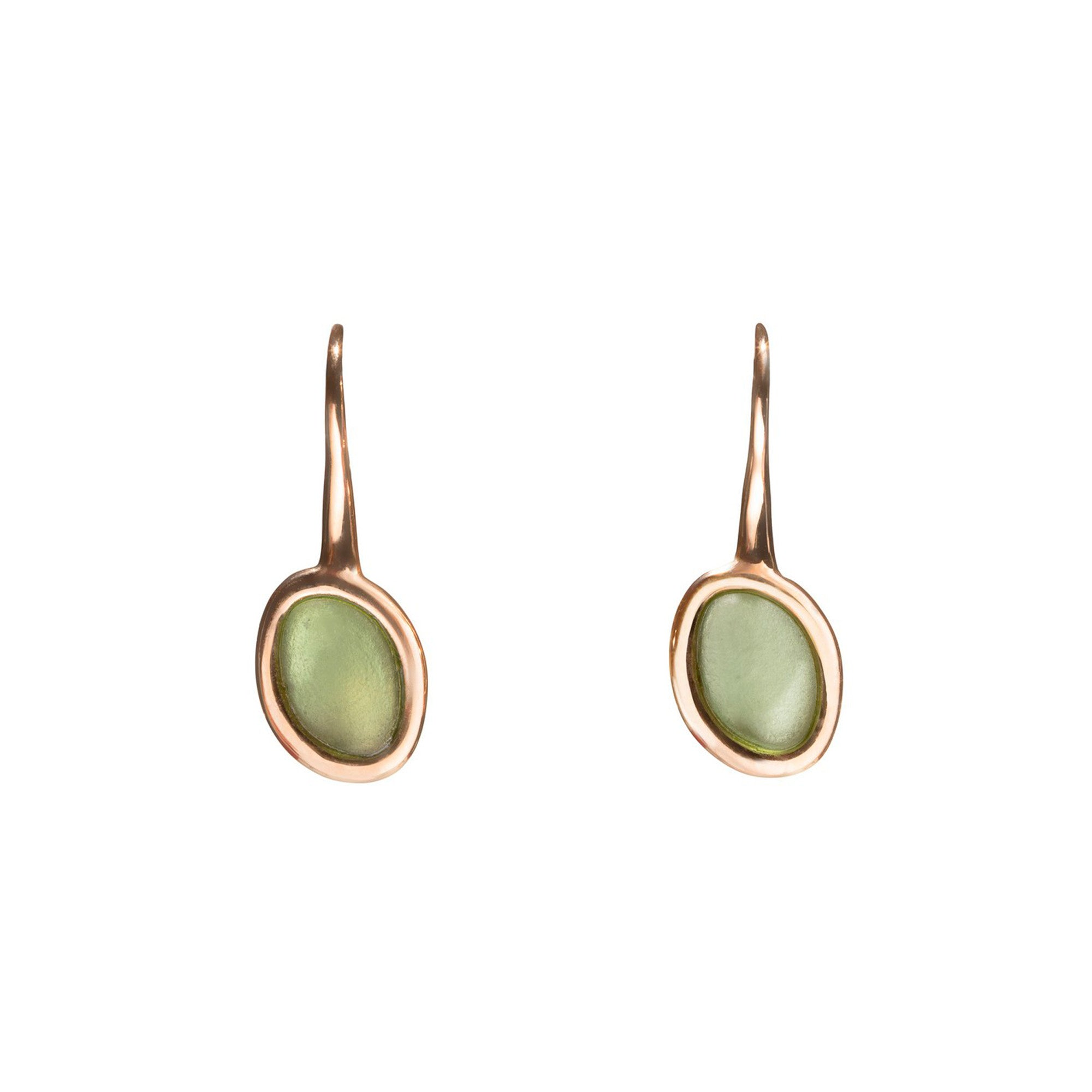 Pria De Ma 9kt Rose Gold Earrings