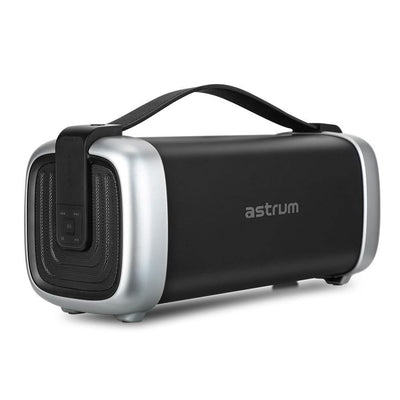 "Astrum Bluetooth Speakers Astrum Wireless Barrel Speaker 25W BT / FM / TF / USB / 4.0"" - ST370"