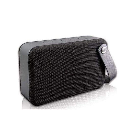 SMD Technologies Bluetooth Speakers Rocka Fibre series Bluetooth speaker with fabric trim - Black