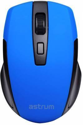 Astrum Computer Mice MW200 MOUSE WIRELESS 2.4G DPI BLUE