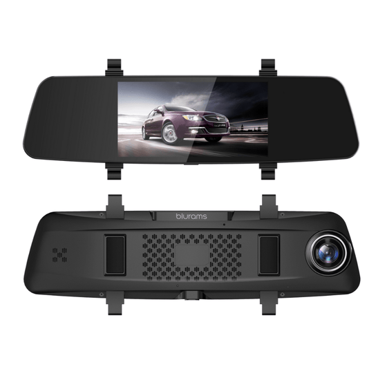 Thirdwave Dash Cameras Blurams V20 Smart Mirror Dash Camera