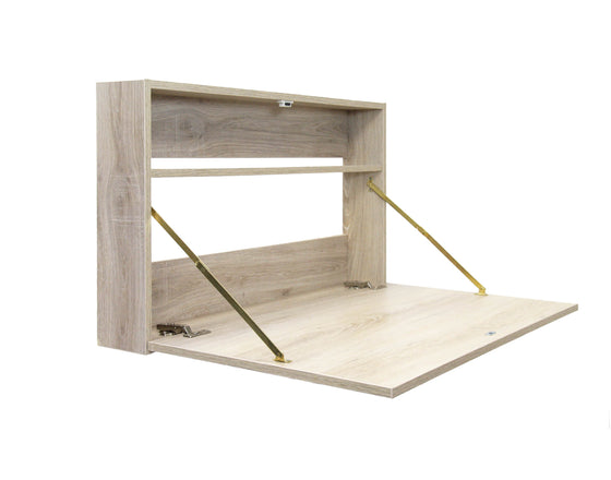 Calasca Desk Fine Living - Signature Fold Up Desk - Oak