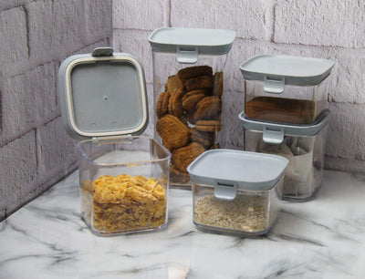 Calasca Easy Lock Storage Container Set - 5pc
