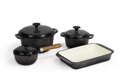 Calasca Fine Living - Lifestyle Cast Iron Set 7pc - Grey