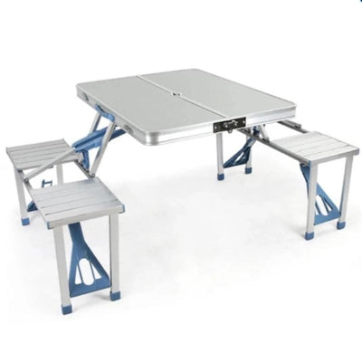 SmartMallSA Furniture Aluminum Picnic Table