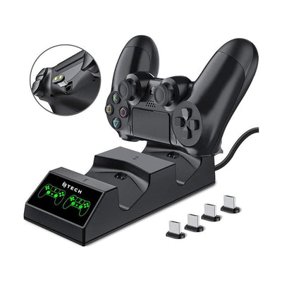 Thirdwave Gaming Controllers Ntech PS4 Dual Controller Charging Dock