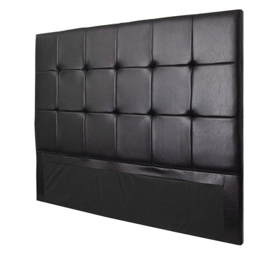 Calasca Headboards Fine Living - Burkley Headboard King - Black PU