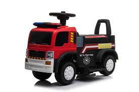 Calasca Jeronimo - Fire Truck - Red