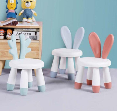 Calasca Kids Furniture Kids Chair Bunny Ears - Mat Red