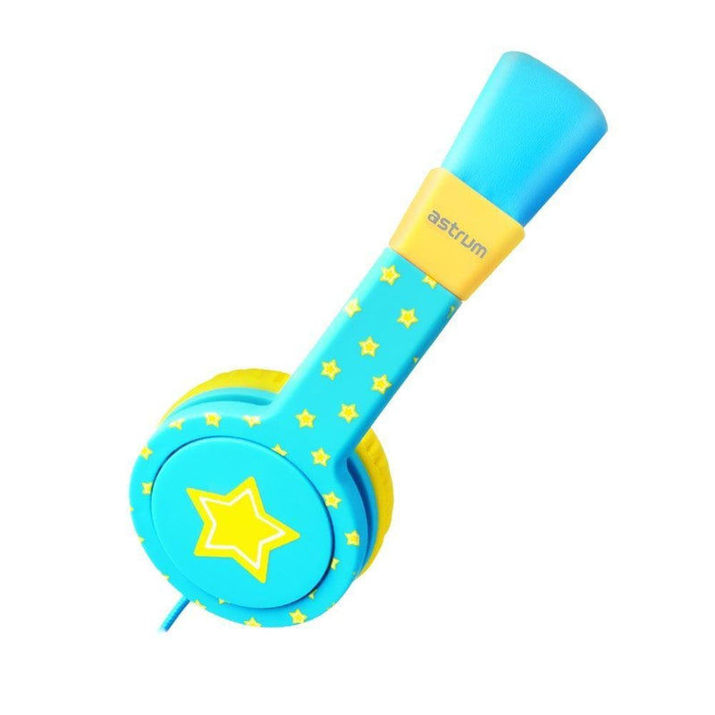 Astrum Kids Headphones Astrum Kids Safe Wired Headset Star + Blue - HS150