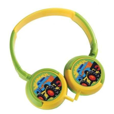 SMD Technologies Kids Headphones Blue Bounce Kiddies Headphones - Boys Monster Truck