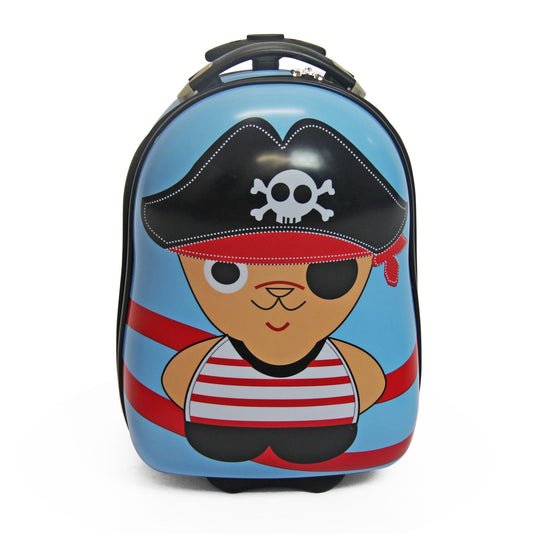Calasca Kids Trolley Suitcase SideKick - Kids Trolley Suitcase - Pirate