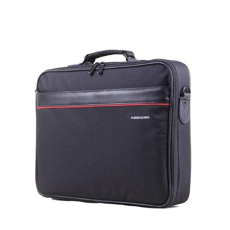 "SMD Technologies Laptop Shoulder Bags Black Kingsons 15.6""  Laptop Shoulder Bag"