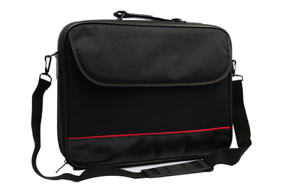 SMD Technologies Laptop Shoulder Bags Black Volkano Industrial Series 14? laptop Shoulder Bag