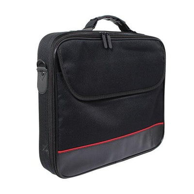 SMD Technologies Laptop Shoulder Bags Black Volkano Industrial Series Laptop Shoulder Bag - Black