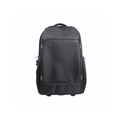 "SMD Technologies Laptop Trolley Bags Black Kingsons 15.6"" Smart Series (with USB Port) Laptop Trolley Backpack"