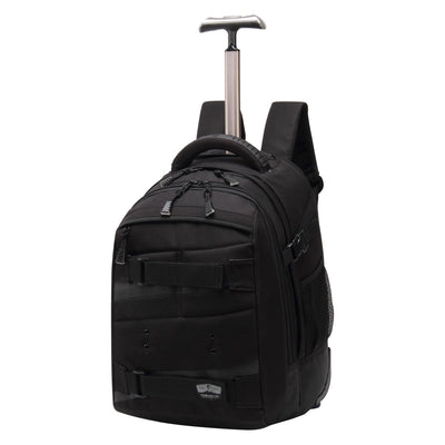 SMD Technologies Laptop Trolley Bags Black Volkano BamM Laptop- Trolley Backpack 18L - Black