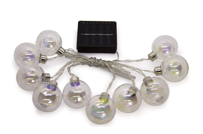 Calasca Lighting LED Fairy lights - Silver Ball 10pc