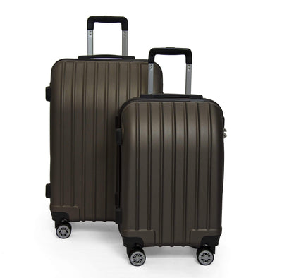 Calasca Luggage Sets SideKick - Emerald 2pc Luggage Set - Bronze