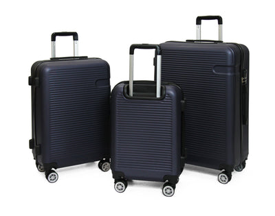 Calasca Luggage Sets SideKick - Ruby 3pc Luggage Set - Navy