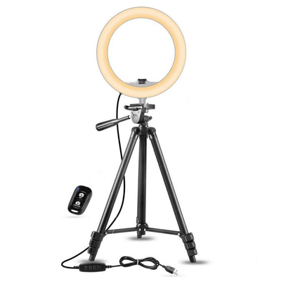 SmartMallSA Lumina 10 Selfie Ring Light With Adjustable Tripod And Remote