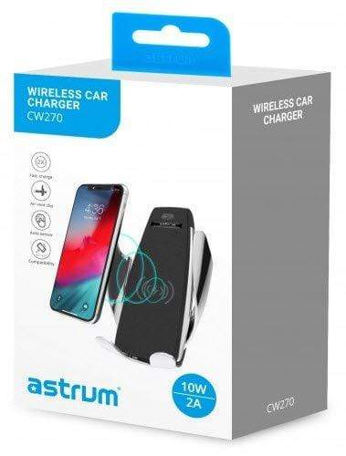 Astrum Mobile Phone Holders CW270 WIRELESS CHARGER 10 AIRVENT HOLDER