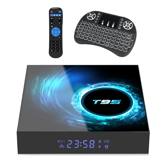 SmartMallSA Ntech T95 Android 10 0 TV Box with i8 Mini Keyboard