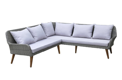 Calasca Patio Lounges Fine Living - Seville Corner Sofa Set