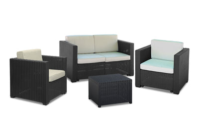 Calasca Patio Lounges Fine Living - Volos Patio set