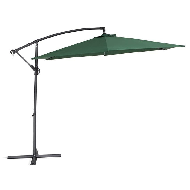 Calasca Patio Umbrellas Umbrella - Vogue Cantilever - Green