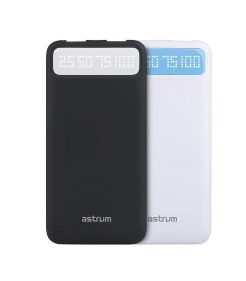 Astrum Power Banks Astrum  9000mAh Universal Quick Charge Power Bank 3A Max  - PB150 White