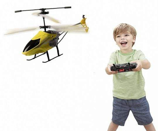 Calasca Radio Control Toys Jeronimo - 3.5 Channel R/C Helicopter - Yellow