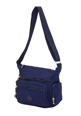 Calasca Shoulder Bags Side Kick Serena Shoulder Bag - Navy