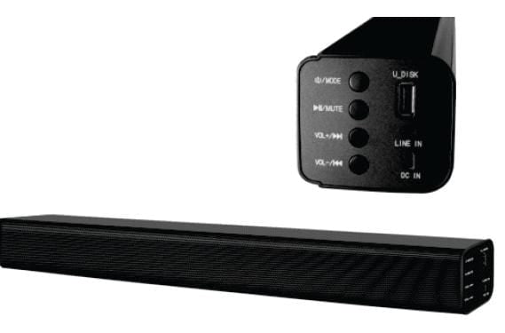 NU WORLD Sound Bars Telefunken 2.0 CH SOUND-BAR