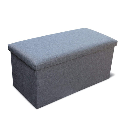 Calasca Storage Ottoman Double - Grey