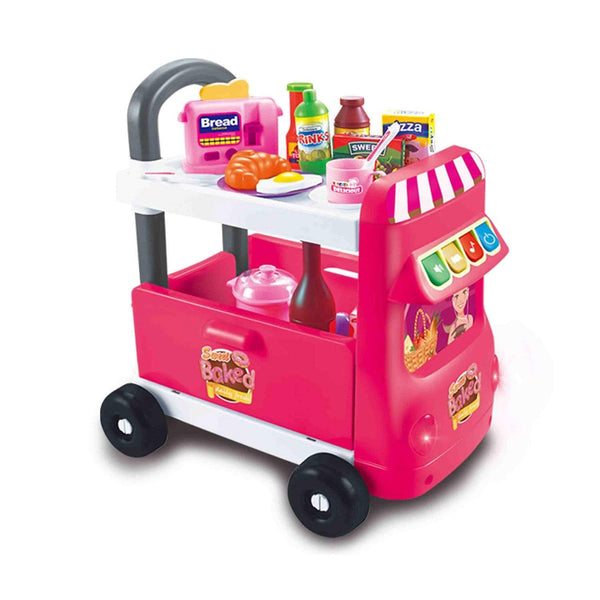 Calasca Toys for Girls Jeronimo - On-The-Move Café - Pink