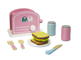 Calasca Toys for Toddlers Jeronimo -Wooden Lunch Playset