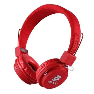 SMD Technologies Wired Headphones Red Bounce Ball Series Headphone- Red