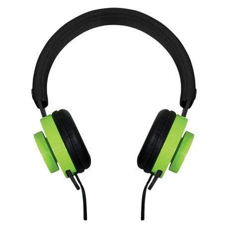 SMD Technologies Wired Headphones Rocka Switch Headphone - Black and Green