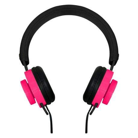 SMD Technologies Wired Headphones Rocka Switch Headphone - Black and Pink