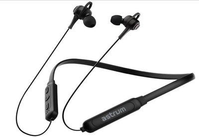 Astrum Wireless Earphones ET270 WIRELESS NECKBAND BT 5.0 BLACK