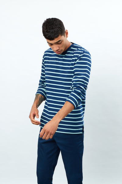Long Sleeve YD Striped Tee