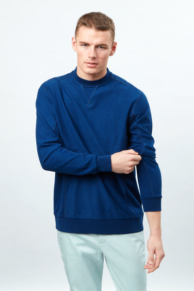 Crew Neck Sweat Loopback cotton