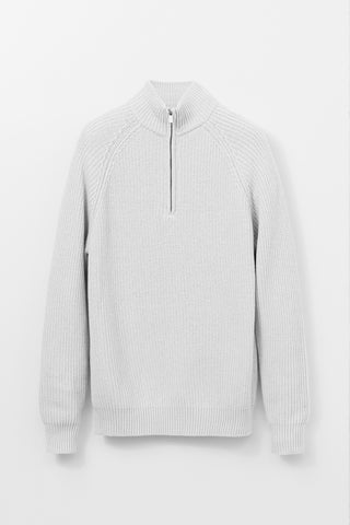 1/4 zip Roll Neck