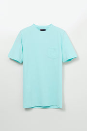 Short Sleeve Crew Neck Pique T-Shirt