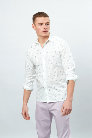 Random Dots Long Sleeve Shirt