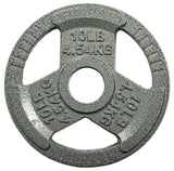 "HulkFit 2"" Cast Iron Plates for Olympic Barbells"