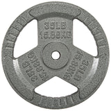 "HulkFit 1"" Cast Iron Plates for Barbells"