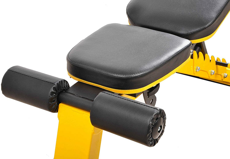 HulkFit Adjustable Utility Weight Bench